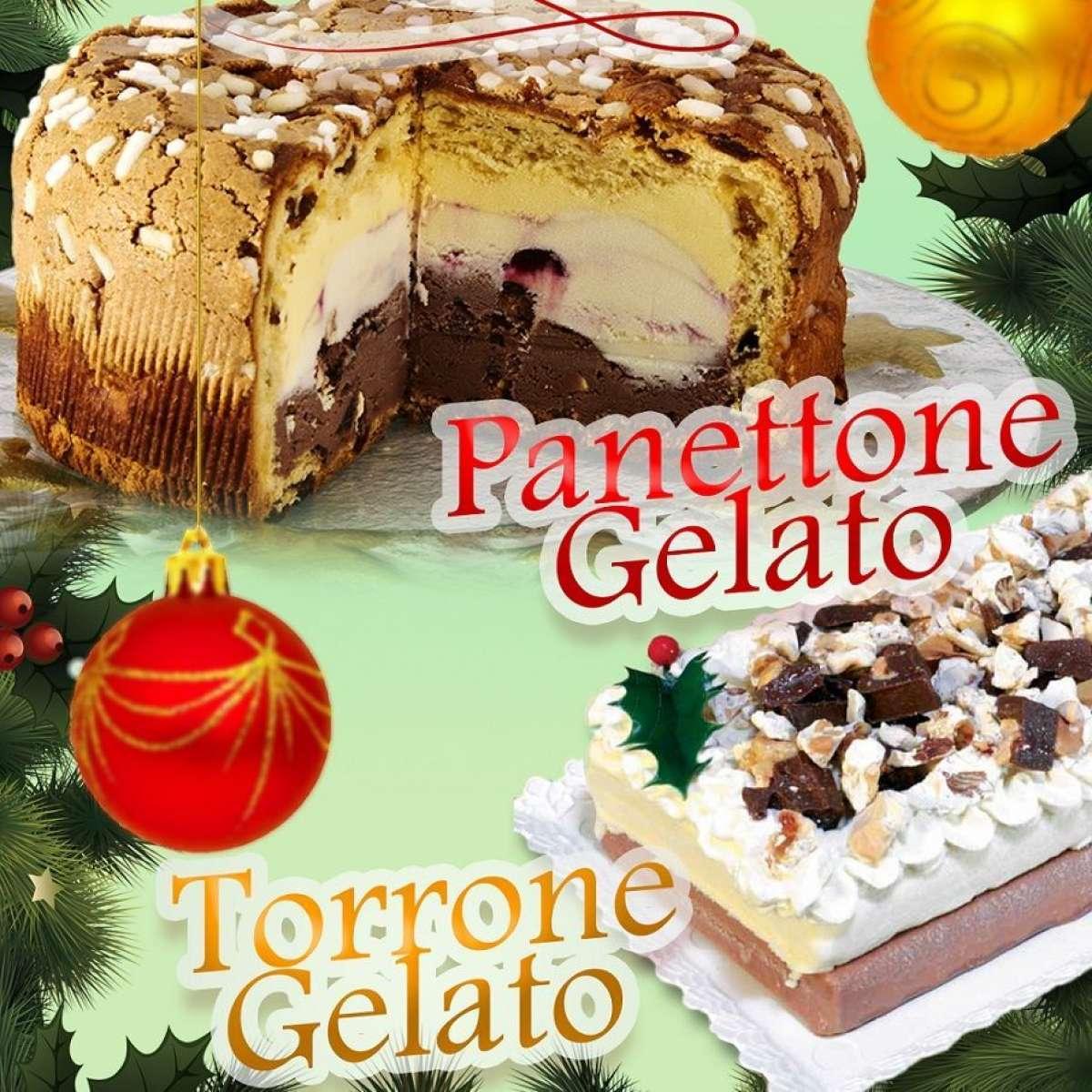 Panettoni gelato per celiaci e Mini-Panettone